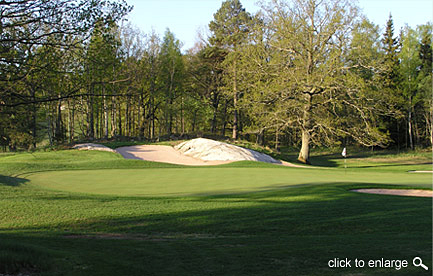 golf course bunkers design aesthetics
