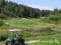 golf course cart paths design materials