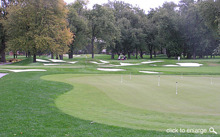golf course practice facilities design